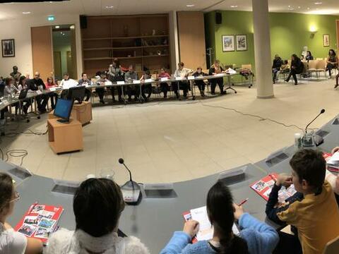 Le CMEJ présente ses projets aux élus du Conseil municipal