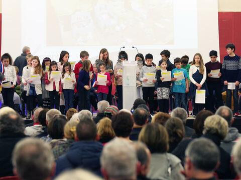 Le CMEJ participe à la cérémonie des voeux à la population