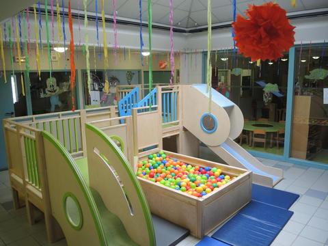 Crèche de Voreppe, un espace ludique et coloré