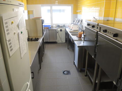 Crèche de Voreppe, une cuisine fonctionnelle