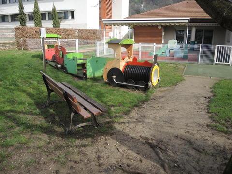 Crèche de Voreppe, un petit train qui a toujours beaucoup de succès