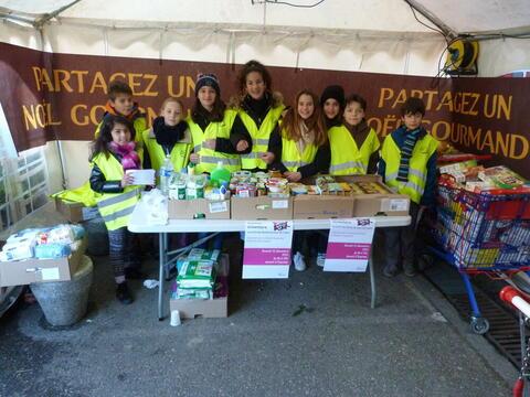 Le CMEJ organise des actions de solidarité, comme des collectes alimentaires