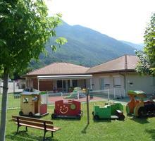 La crèche municipale, havre de verdure